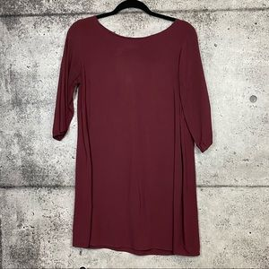 American Apparel // Burgundy Mini Dress / Tunic